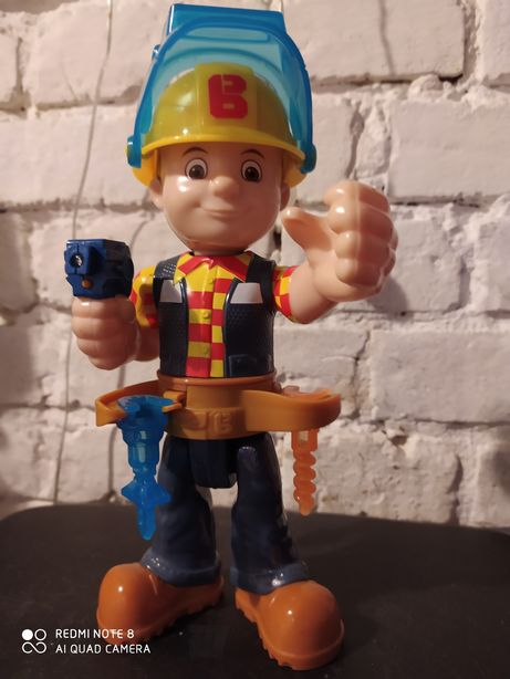 Bob budowniczy zabawka interaktywna, Mattel