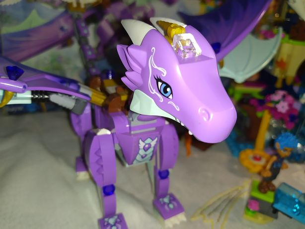 Лего lego elves 41178 самый редкий дракон