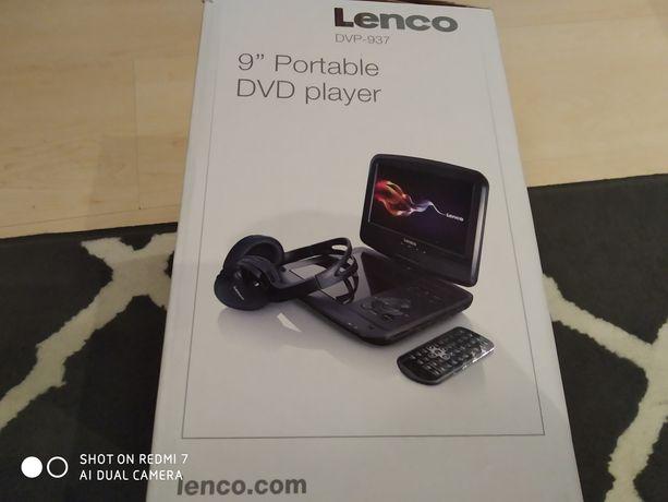 LENCO DVP-937 DVD odtwarzacz przenośny DVD do auta i nie tylko