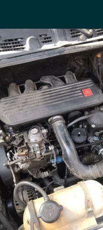 Мотор двигатель DW8 КПП Ситроен Берлинго Пежо Партнёр Фиат Скудо 1,9D