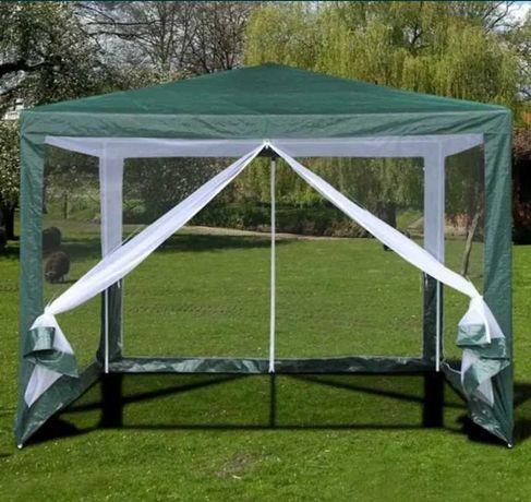 беседка палатка тент Павильон садовый Шатер 3*3 м Москитная сетка!