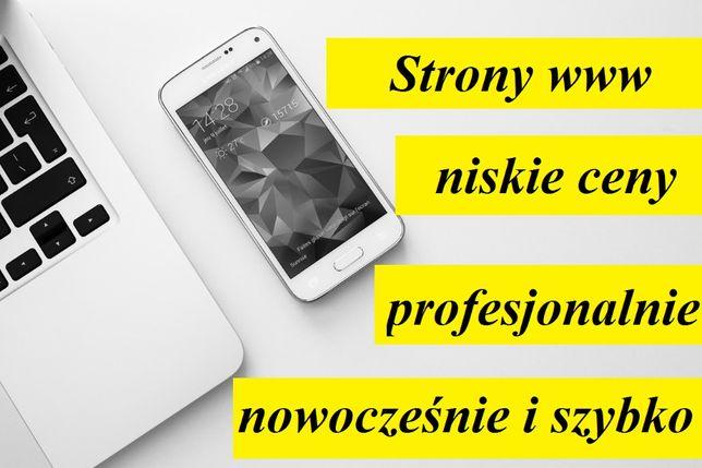 Strony internetowe dla firm - Pozycjonowanie - Strona www - Sklep