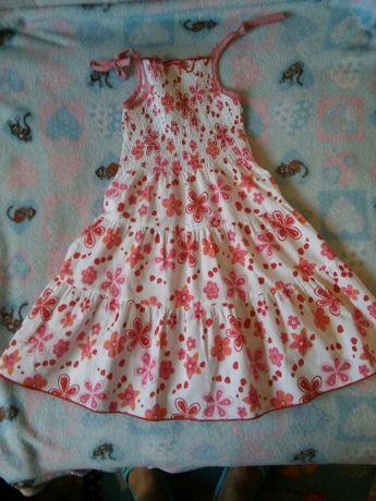 Sukienka letnia 3-4 lata, r. 98-104