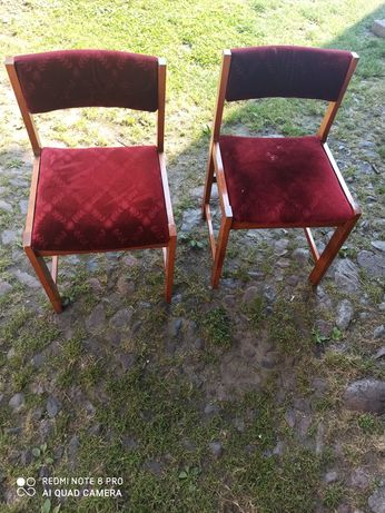 Stare krzesla Z Prl tylko dzis taka cena