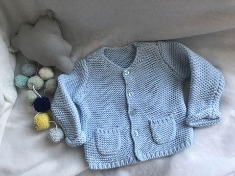 Sweterek rozpinany 62-68