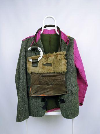 Пиджак  harris tweed и дизайнера Joey D handmade custom work ручная