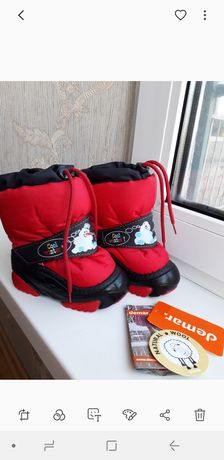 Зимние сапоги, ботинки Demar