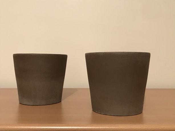 Conjunto 2 vasos IKEA Mandel - NOVOS