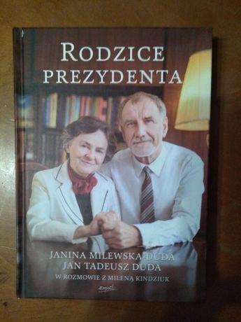 Książka pt. Rodzice prezydenta