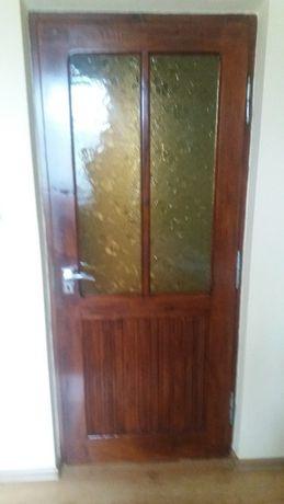 Drzwi drewniane wewnętrzne pokojowe