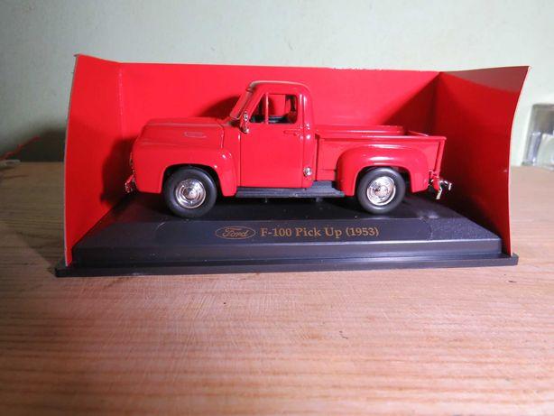 f-100 pickup road signature 1/43 машинка модель