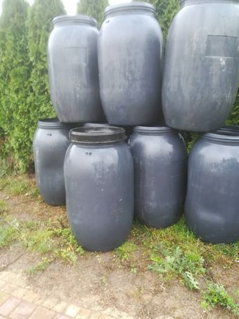 Beczki plastikowe 200 beczka plastikowa deszczówka 220lit