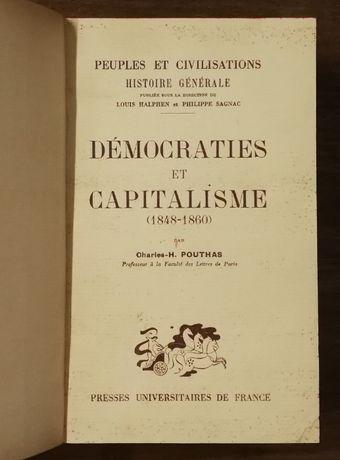 démocraties et capitalismoe, charles-h. pouthas, presses universitaire