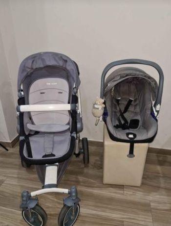 Carrinho + Ovo bebé + ISOFIX