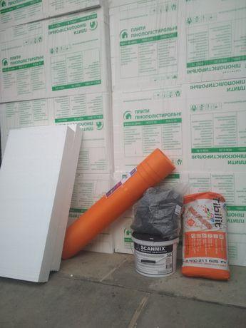 Пенопласт, строительные материалы,
