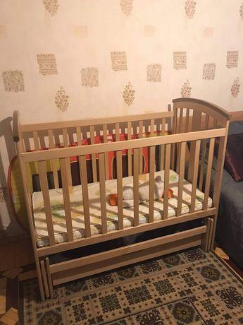Дитяче ліжко 60*120 Міа Woodman, б/у