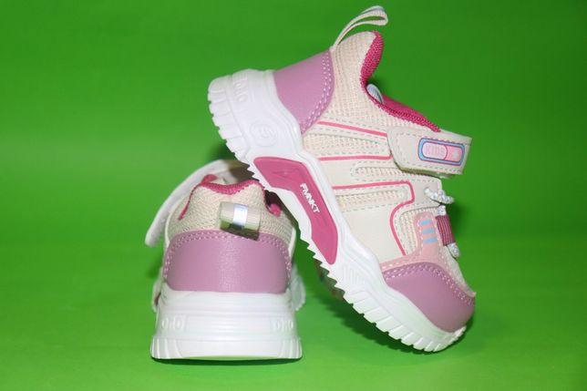 Модные кроссовки для стильных малышек со светоотражающими элементами