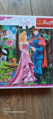 Puzzle trefl Disney Princess 200