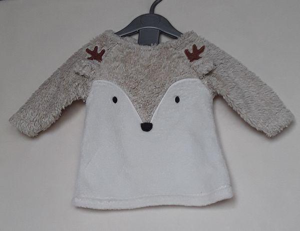 Śliczny ciepły sweterek NEXT