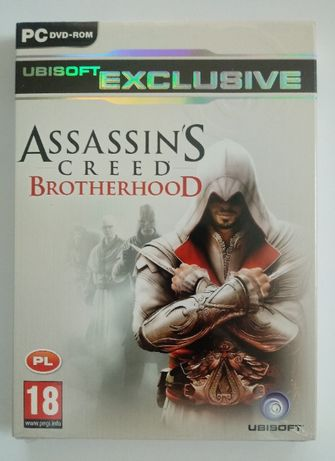 Gra PC Assassins Creed Brotherhood nowa folia
