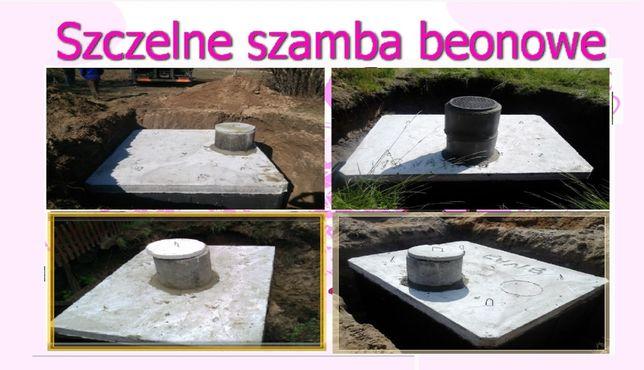 Szambo betonowe o pojemności 10m3 SZCZELNE z dokumentacją! SZAMBA