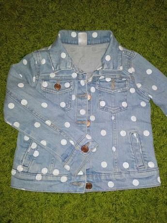 Джинсова куртка для дівчинки Carter's