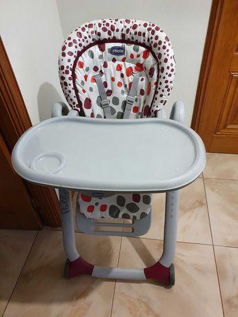 Cadeira de papa, chicco polly progres5