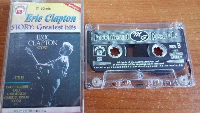 Eric Clapton – Story, 1992 , KASETA MAGNETOFONOWA