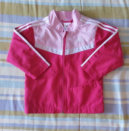Dresik wiosenny dla dziewczynki Adidas rozmiar 86