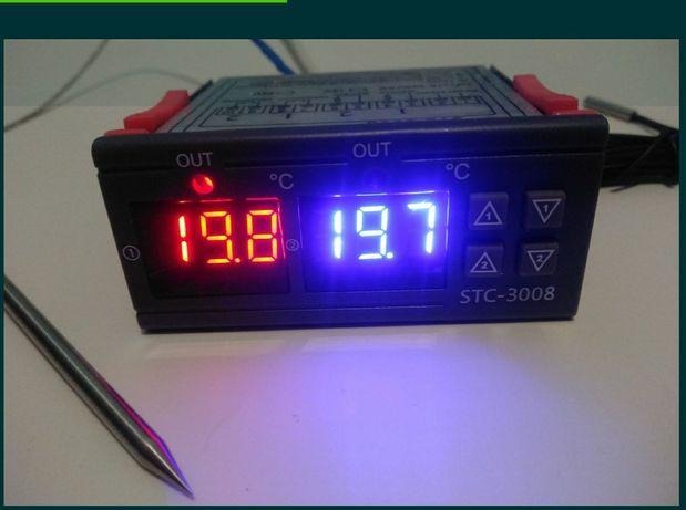 Терморегулятор для коптильни со щупом