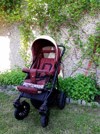 Wózek spacerowy dziecięcy fotelik samochodowy