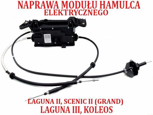 NAPRAWA regeneracja hamulec elektryczny Renault Laguna III Scenic II