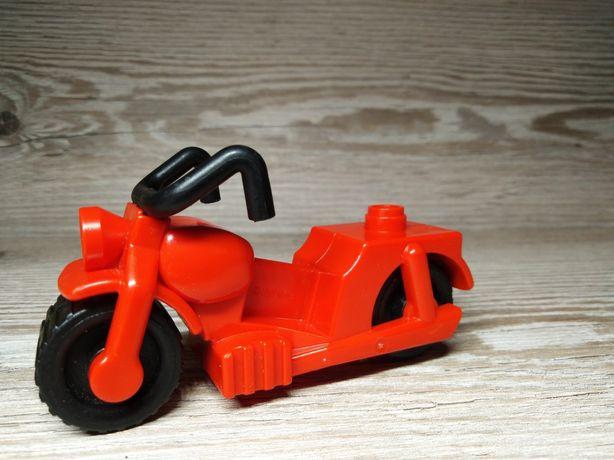 Винтаж Мотоцикл Lego Duplo