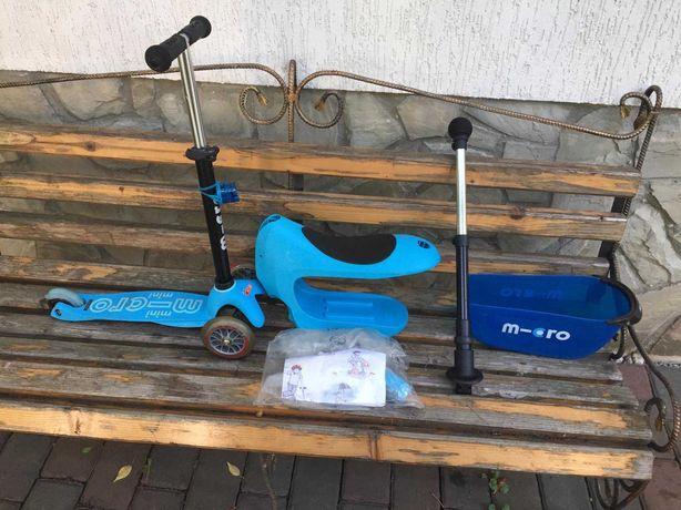 Самокат Micro Mini 2Go Deluxe Plus Blue