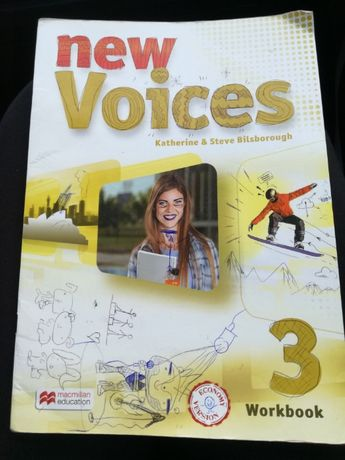 New Voices 3 workbook macmillan education ćwiczenia angielski economy
