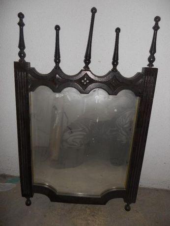Espelho antigo Vintage.