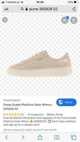 Puma suede sneakersy 40 NOWE