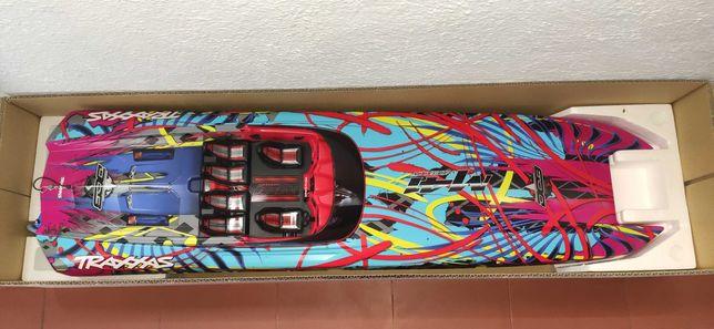 Barco telecomandado traxxas M41 velocidade 80+kmh