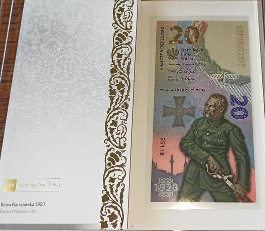 Banknot Bitwa Warszawska 1920 10 sztuk