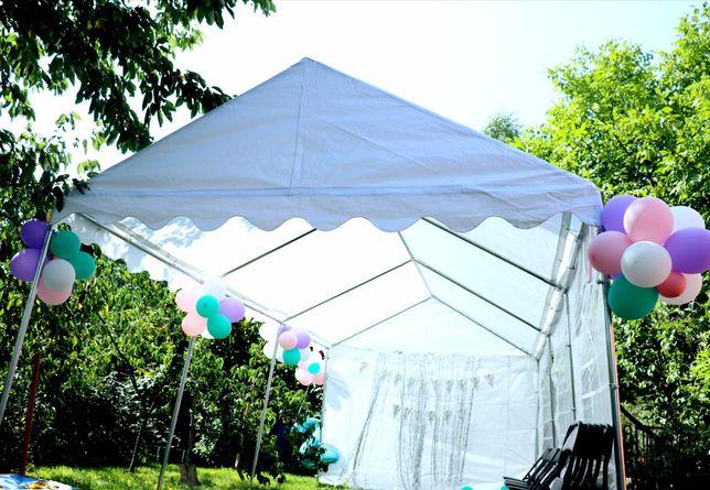 Namiot pawilon ogrodowy imprezowy balony hel urodziny chrzciny