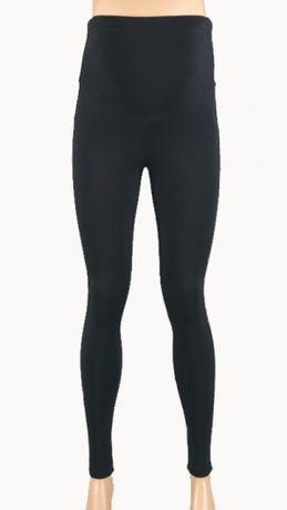 Spodnie ciążowe Branco legginsy getry czarne