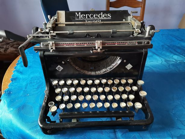Maszyna do pisania Mercedes Favorit