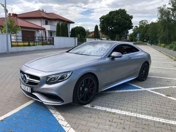 Mercedes Benz S  S63 AMG S-COUPE EDITION ONE 2014 4MaticSwarovskiSPL