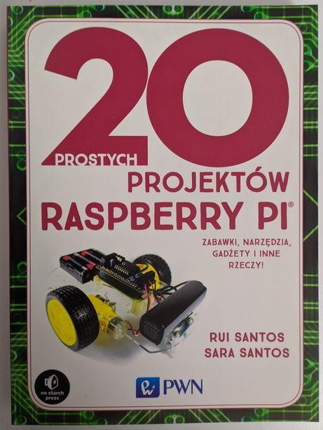 Książka 20 projektów Raspberry PI 2019
