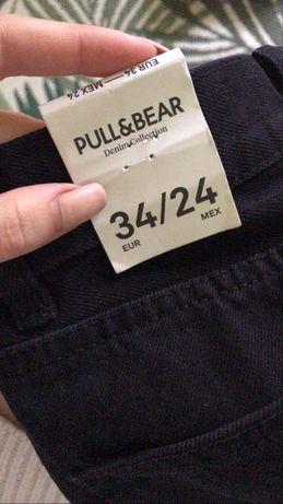 Mom jeans / джинсы мом Pull & Bear XS