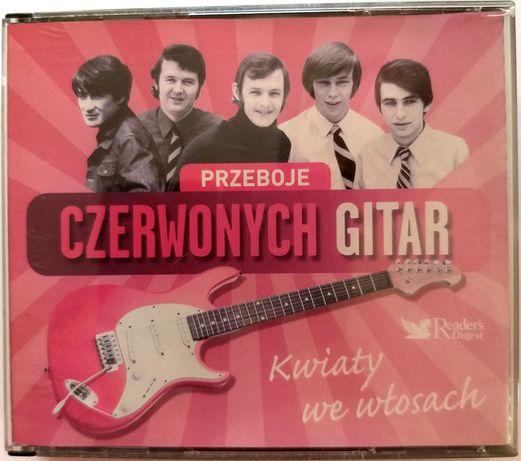 Czerwone Gitary Przeboje Czerwonych Gitar Kwiaty We Włosach 5CD 2007r