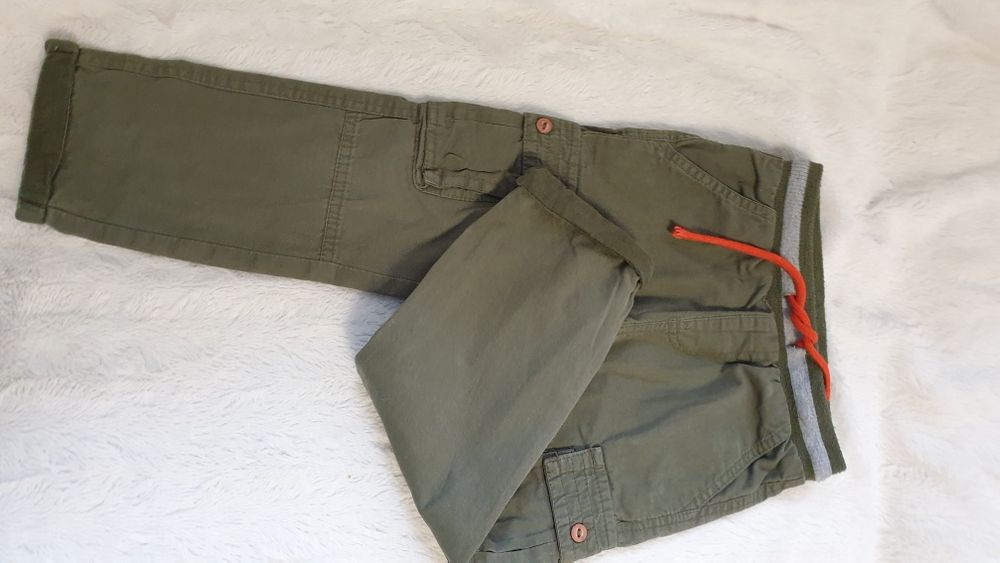 Ocieplane chłopięce spodnie z 5-10-15, rozmiar  98 Wolbrom - image 1