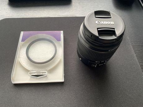 Vendo objetiva Canon EF-S 18-55mm F3.5-5.6 lll