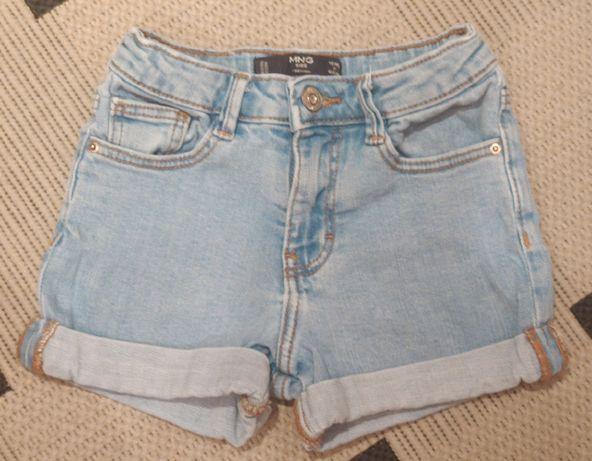 Продам джинсовый шорты Mango на девочку.
