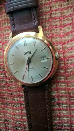 SHD z datownikiem męski mechaniczny zegarek extra stan Au